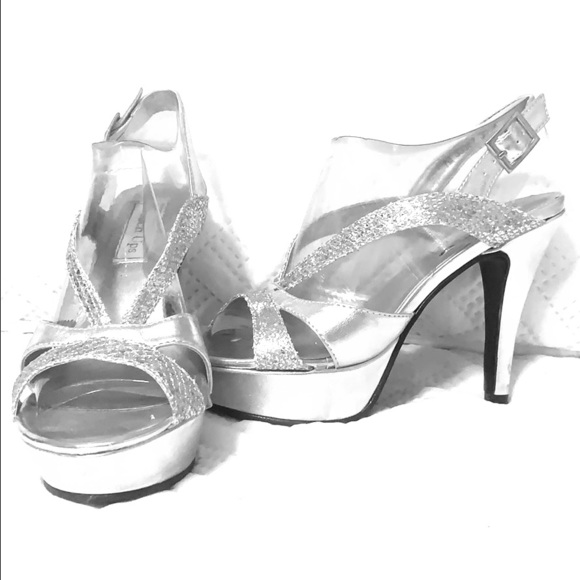 Touch Ups Shoes | Dressy Silver And